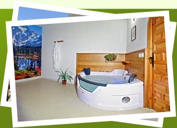 Ferienhäuser auf dem Land mit Jacuzzi in den Alpujarras