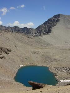 Laguna Caldera del Mulhacén